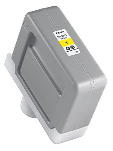 Preisvergleich Produktbild Canon 1489B001 PFI-301Y Tintenpatrone Pigment gelb Standardkapazität 330ml 1er-Pack