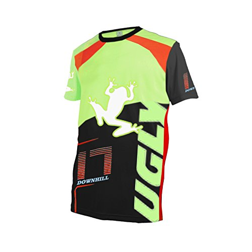 Uglyfrog Bike Summer Wear Short Sleeve Jersey Fr¨¹hlingsart MTB Motocross Jersey Herren Mountain Bike Downhill Shirt Sportbekleidung Kleidung