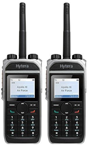 Price comparison product image Hytera PD685 VHF 4 Watt Analogue & Digital Two Way Radio with EAN22 Covert Earpiece x 2