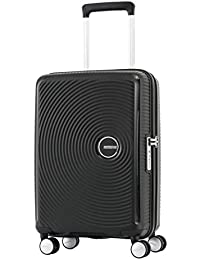 a070a97e9 American Tourister Curio Polypropylene 67 cms Black Hardsided Check-in  Luggage (AO8 (0