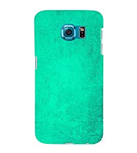 Light Green Texture 3D Hard Polycarbonate Designer Back Case Cover for Samsung Galaxy S6 G920I :: Samsung Galaxy G9200 G9208 G9208/SS G9209 G920A G920F G920FD G920S G920T