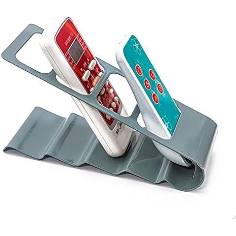 ULTNICE Organizador de armario metálico para TV con Control remoto acondicionador de aire (gris)