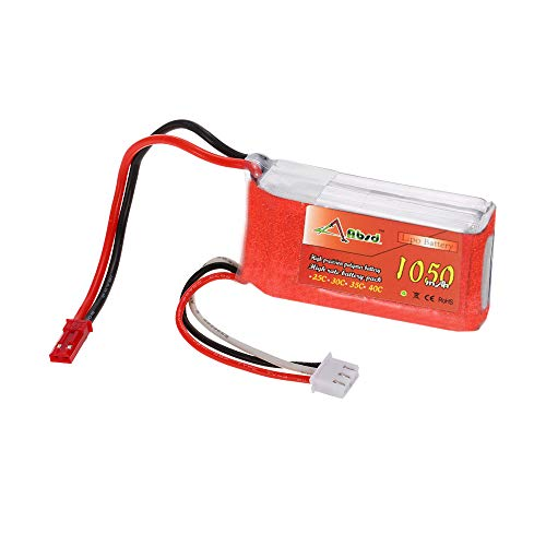 REES52 3.7V Li Po Battery 1050Mah 25C