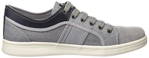 Geox U Warrens B, Sneakers Basses Homme Gris (Stone)