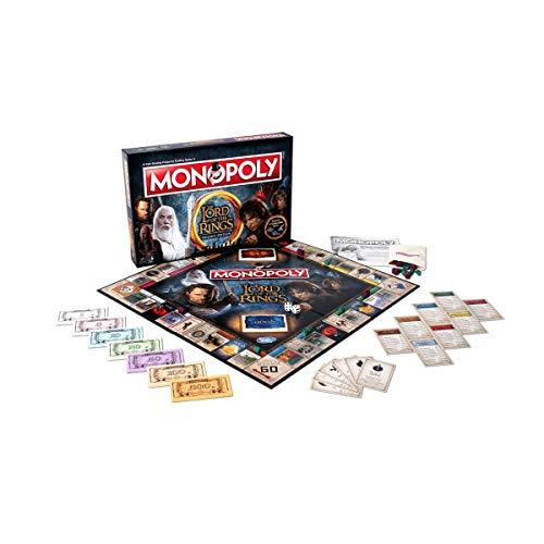 Winning Moves Señor Anillos Monopolio Juego Tablero
