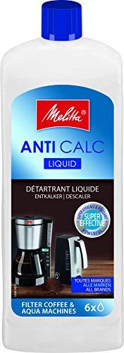 Melitta 192618 Flüssigentkalker für Filtermaschinen, 250 ml, Anti Calc