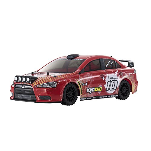 1/10 EP 4WD voiture de rallye FAZER VE-X Lancer Evolution X KX4 Ready Set 30919T2