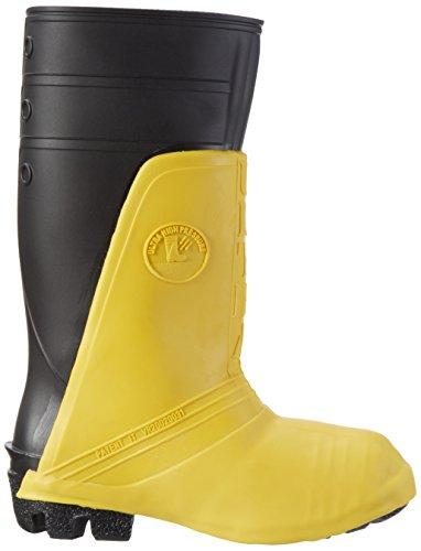 Nora Ultra 12, Chaussures de Football Homme Multicolore (schwarz-gelb 14)