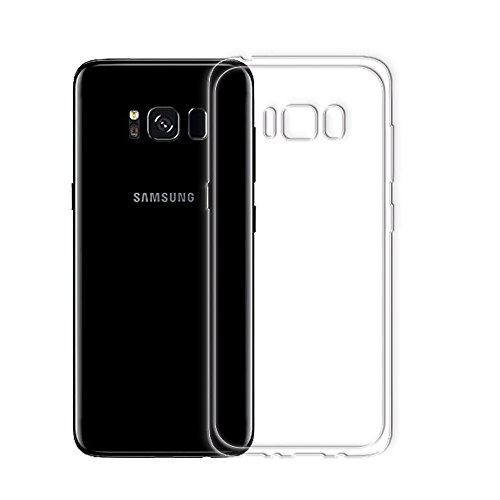 Minto Ultradünn TPU Hülle iPhone 8 Plus / iPhone 7 Plus Silikon Schutzhülle Handyhülle Case Crystal Cover Durchsichtig transparent 0.6mm Galaxy S8