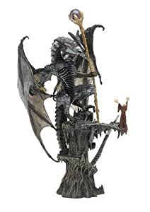 2006 - McFarlane / Spawn - Series 3 - McFarlane's Dragons - Quest for the Lost King - Sorcerers Dragon Clan & Human Wizard - Deluxe Boxed Set - Very Rare - Out of Production - Limited Edition - Collectible by McFarlane Toys