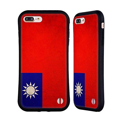 Head Case Designs Austalien Australianisch Vintage Fahnen Hybrid Hülle für Apple iPhone 6 / 6s Taiwan Taiwanese
