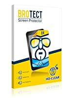 2x BROTECT Screen Protector Kobo Aura One Protector - Crystal-Clear, Anti-Fingerprint