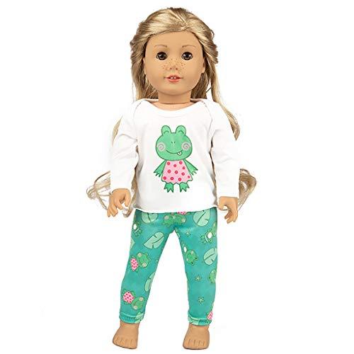 Gaddrt Puppenkleider Zubehör Kleidung Niedliche Kleidung Jacke Mantel mädchen für 18 Zoll Puppe zubehör mädchen for American Girl Spielzeug (A) (18-zoll-american Mädchen Puppe)