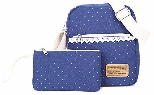 Keshi Leinwand Niedlich Damen accessories hohe Qualität Einfache Tasche Schultertasche Freizeitrucksack Tasche Rucksäcke Schwarz