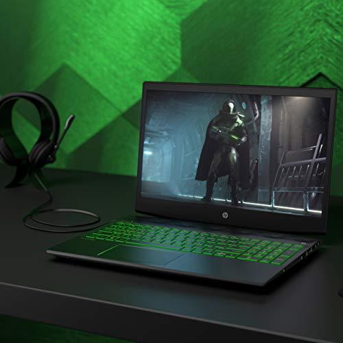 HP Pavilion 15-cx0023nf PC Portable Gaming 15' FHD Noir (Intel Core i5, 8 Go de RAM, 1 To + SSD 128 Go, Nvidia GeForce GTX 1050, Windows 10)