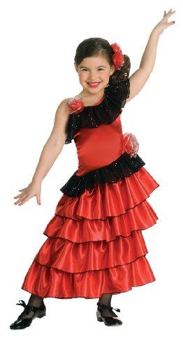 Rubie's 2 883053 S - Spanish Princess Kostüm, Größe S (Zubehör Flamenco-tänzerin)