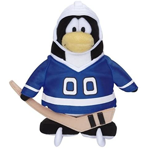 Disney-Peluche di Club Penguin 6,5 cm, colore: Blu (moneta, il