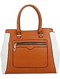 Fur Jaden Tan Handbag For Woman