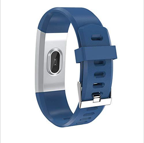 Neues tragbares Gerät Farbbildschirm Bluetooth Armband wasserdicht Schrittzähler Test Herzfrequenz Smart Armband D