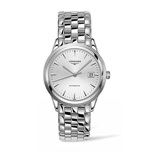 Longines Les Grandes Classiques de Longines Flagship / orologio uomo / quadrante argento / cassa e bracciale in acciaio