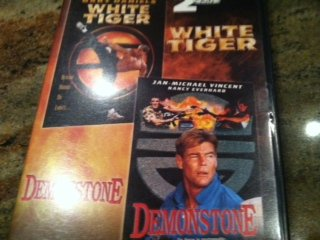 White Tiger / Gary Daniels & Demonstone / Jan-Michael Vincent 2 0n 1 DVD