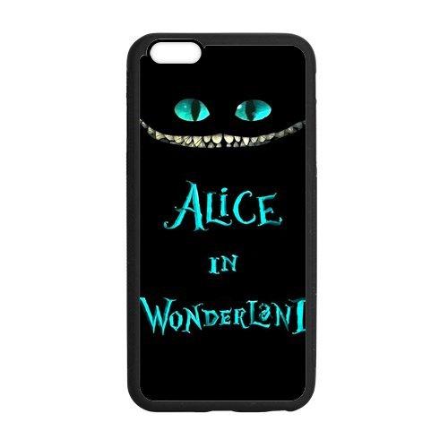 Pochette Protection en TPU Case Cover Étui pour iPhone 6Plus (5.5), étui Alice in Wonderland Coque pour iPhone 6Plus, Soft Silicone Skin Housse Coque Shell de protection pour iPhone 6