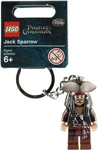 LEGO Pirates Des Caraibes: Capitaine Jack Sparrow Porte-Clés