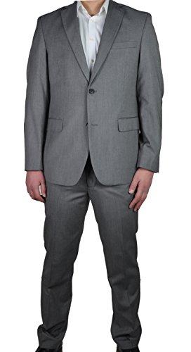Herren Anzug in anthrazit oder grau, Regular Fit, Markenware (40999), Größe:54, Farbe:Grau (70) (Anzug Gestreifter Schwarz)