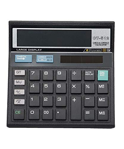 Citizen CT-512 Electronic Calculator (Black)