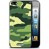 Coque de Stuff4 / Coque pour Apple iPhone 5/5S / Vert 2 Design / Armée/Marine militaire/Camouflage Collection