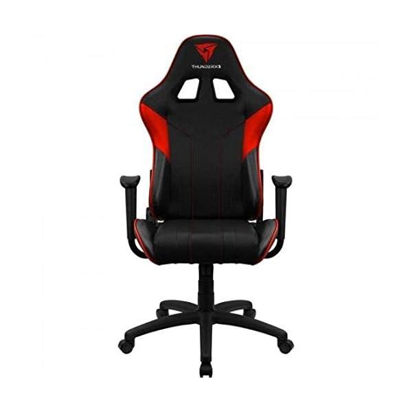 ThunderX3 EC3, siilla gaming tecnología AIR, reclinable, cojín lumbar, rojo