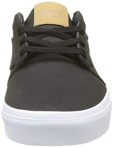 Vans Herren Chapman Stripe Leather Sneaker Schwarz (H17 Leather)