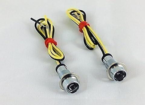 Clignotant Micro LED Micro Affichage Tableau de Bord - Lumière (Moto Chopper)