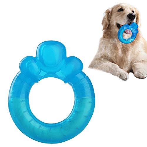Oncpcare Hundespielzeug, für den Sommer, Donut-Spielzeug, Eiskönigin, kaubar, Gummi-Spielzeug, Wasserspielzeug, Spielzeug, Spielzeug, Welpen-Ring, Spielzeug für große, mittelgroße und kleine Hunde