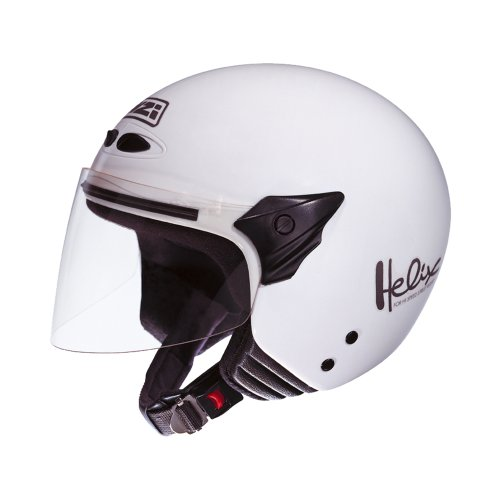 NZI 050137G001 Helix II Jr Casco de Moto, Color Blanco, Talla 50-51 (S)