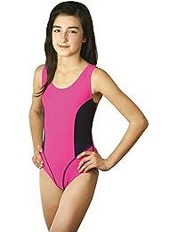 ZAGANO Kinder Mädchen Badeanzug / Schwimmanzug Aruba