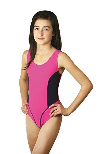 Kinder Schwimmanzug, Aruba, pink, Gr.122