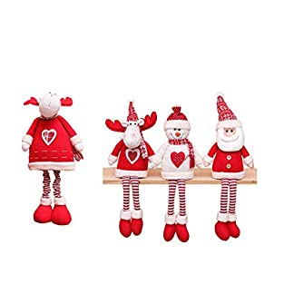 Decoración Papá Noel Navidad Muñeca Papá Noel Adorno Árbol Navidad para Niños Cumpleaños Regalo Año Nuevo Muñeca De Franela De Navidad