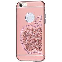 Ishield da 7/8di lusso con cristalli Swarovski per iPhone 7/8–Custodia tipo: Ishield 7case King Apple rosa Pink