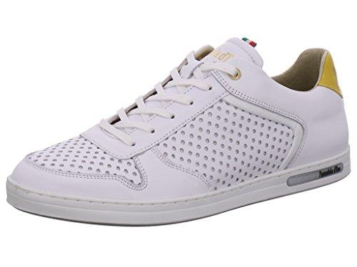 Pantofola d'Oro Ebice Herren Low-Top Bright White New