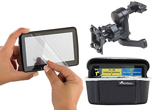 """Preisvergleich Produktbild NavGear Navi Zubehör: Zubehör-Set mit Lüftungsgitter-Halterung für 4,3"""" Geräte (Navi Halterung)"""