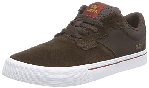 neakers, Braun (BROWN - WHITE BRN), 41 EU (7 Herren UK) (Supra Schuhe Classic)
