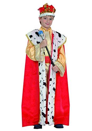 Fiori Paolo Re Magio Costume Bambino, Marrone, M (5-7 Anni), 61050.M
