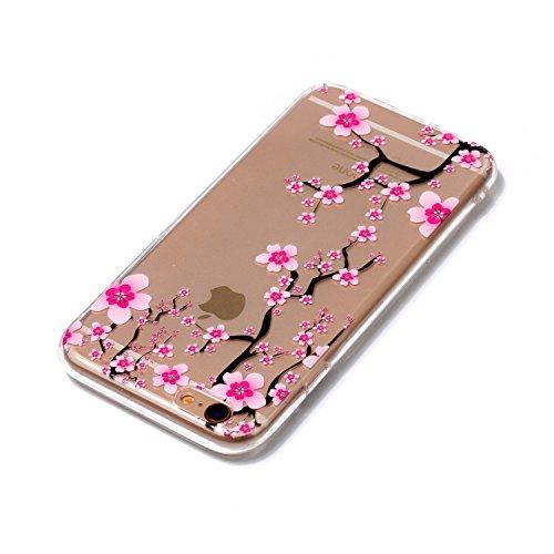 Cover iPhone 6/ 6s, Sportfun morbido protettiva TPU Custodia Case in silicone per iPhone 6/ 6s (modello 11) modello 11