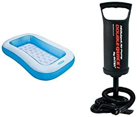 Intex Rectangular Pool and Pump Bundle