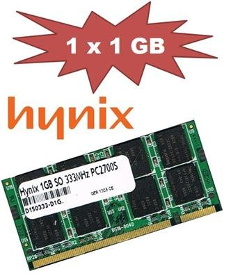 Hynix HYMD512M646DFP8-J 1 GB 200-Pin SO-DIMM DDR-333 PC-2700 64Mx8x16 Double-Sided