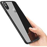 laxikoo iPhone XS Hülle, iPhone X Handyhülle, Silikon Hülle iPhone XS Schutzhülle Anti-Scratch Stoßfest Unterstützt Kabelloses Aufladen Ultra Dünn TPU Bumper case für iPhone XS/iPhone X case Cover