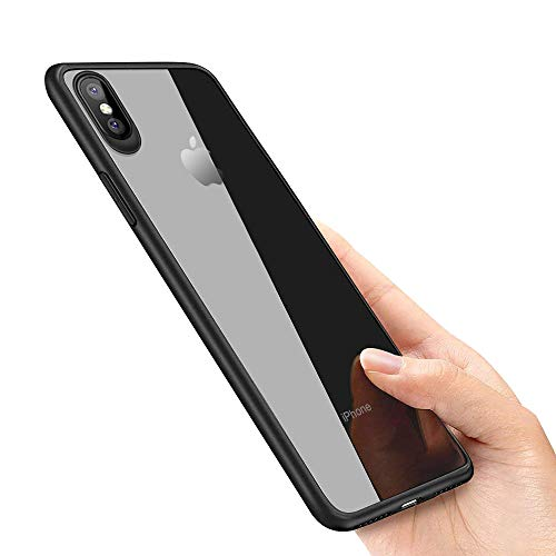 laxikoo iPhone XS Hülle, iPhone X Handyhülle, Silikon Hülle iPhone XS Schutzhülle Anti-Scratch Stoßfest Unterstützt Kabelloses Aufladen Ultra Dünn TPU Bumper case für iPhone XS/iPhone X Case Cover -