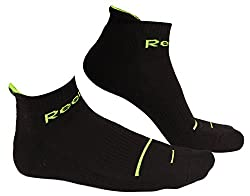 Reebok 1326C01 Half Cushion Socks, 22-44cm (Black/White/Grey)