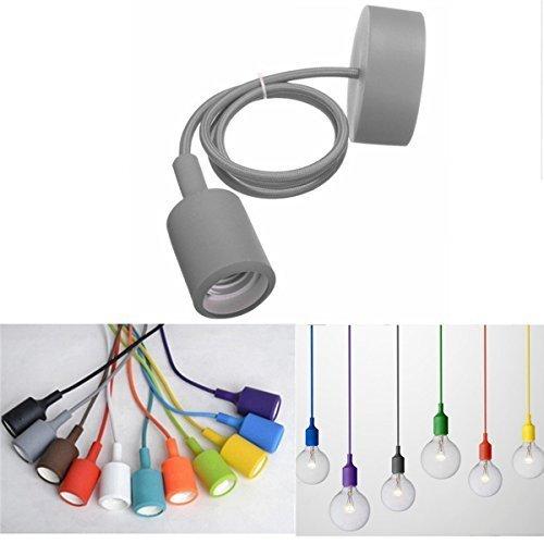 kingso-e27-lustre-suspension-adaptateur-de-douille-en-silicone-avec-fil-colores-eclairage-de-plafond